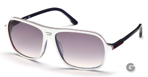 Diesel DL0014 Sunglasses DL 0014 Color 24C Smoke Mirror
