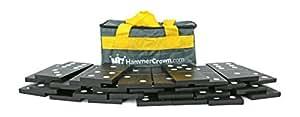 Hammer Crown Giant Dominoes; Black & White