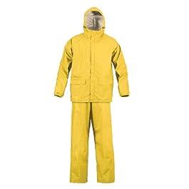 Mossi SX Rain Suit (Yellow, XX-Large)