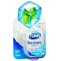 Tums Freshers Antacid, 50 Count Per Pack