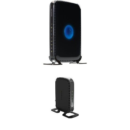 NETGEAR N600 Dual Band Wi-Fi Router (WNDR3400) & Netgear High Speed DOCSIS 3.0 Cable Modem (CM400-1AZNAS) Bundle (Cm400 High Speed Cable Modem)
