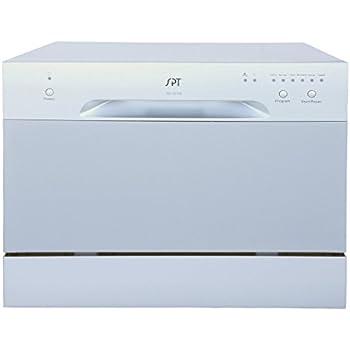 Amazon Com Spt Countertop Dishwasher White Appliances