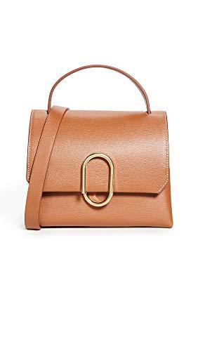3.1 Phillip Lim Women's Alix Mini Top Handle Satchel, Cognac, Tan, One ()