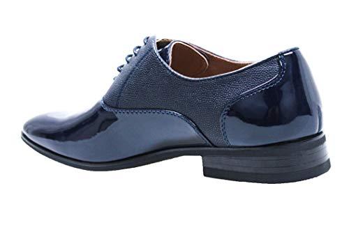 Scarpe Cerimonia Blu Class Evoga Uomo Lucide Eleganti dTyyaqf1w