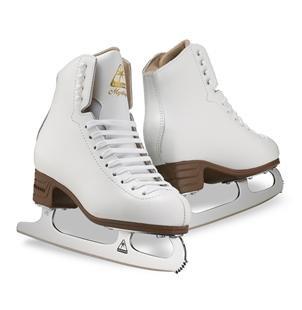 Jackson Foam Skates Figure ( Jackson Ultima JS1490 Mystique Womens Figure Ice Skates/Color White Size: Adult 5)