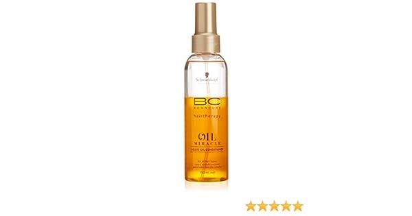 2499bff33c Amazon.com : Schwarzkopf BC Bonacure Oil Miracle Liquid Oil Conditioner  150ml/5.1oz : Standard Hair Conditioners : Beauty