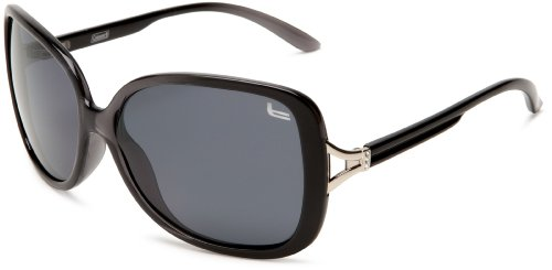 Coleman Womens CC1 6020-C1 CC1 6020-C1 Polarized Square Sunglasses,Black Frame/Smoke Lens,one - Sunglasses Gucci Carrera