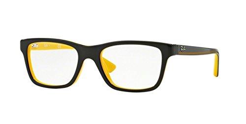 RayBan bimbo RY 1536Géométriques acétate enfant Black Yellow ... e6003c44f939