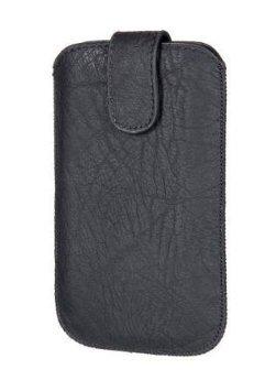 Hama Portfolio-Schutzhülle für Apple iPhone 4S, Schwarz