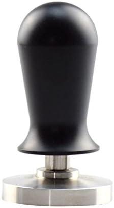 amleso ステンレススチール エスプレッソ コーヒー豆 押しツール プレスツール 全4種多サイズ - #1-58mm(黒)
