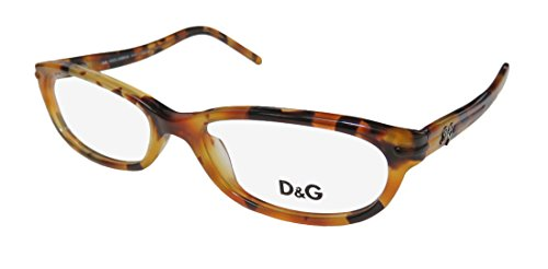 Dolce Gabbana 1125 Womens/Ladies Cat Eye Full-rim Flexible Hinges Eyeglasses/Spectacles (51-16-130, - Spectacles Dolce Gabbana