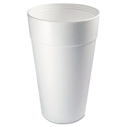 (Dart 44TJ32 Conex Foam Cup, 44 oz., Hot/Cold, White, 20 per Bag (Case of 15 Bags))