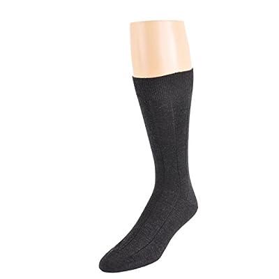 Top One Pair Marcoliani Men's Mid-Calf Italian Luxury Cashmere and Silk Socks