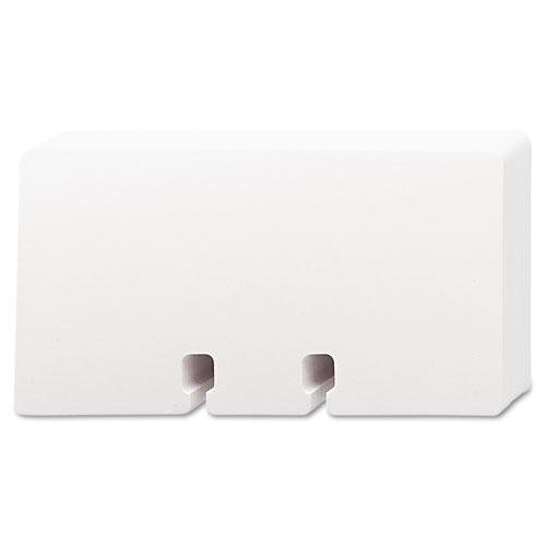 Rolodex 67558 Plain Unruled Refill Card 2 1/4 x 4 White 100 Cards/Pack ()