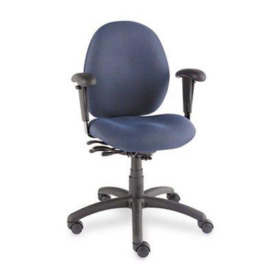 Tilter Task Chair (GLB31413BKPB08 - Global Malaga Low-Back Multi-Tilter Swivel Chair)