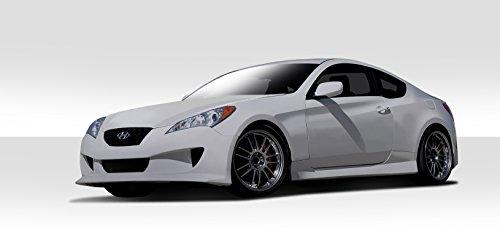 2dr Hot Wheels - 2010-2012 Hyundai Genesis 2DR Duraflex Hot Wheels Body Kit - 4 Piece