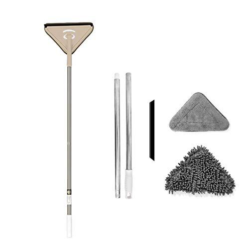 BAOLE Microfiber Chenille Deep Clean Mop Instelbare Deep Clean Mop Flexibele 360 graden draaiende Deep Clean Mop…
