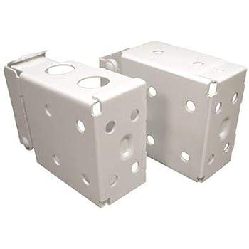 "1 pair 2/"" WOOD BLIND or VENETIAN BLIND 2/"" X 2/"" High Profile BOX BRACKETS"