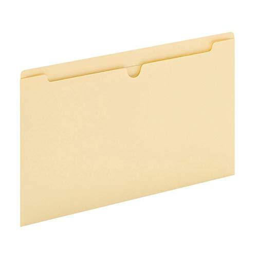 Office Depot Manila Single-Top File Jackets, 8 1/2in. x 14in, Legal Size, Box of 100, ODB3015