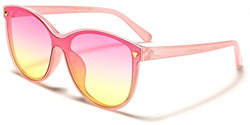 Taille yellow soleil unique SDK de Pink Lens Lunette Femme SUNGLASSES Pink cnfWBTH