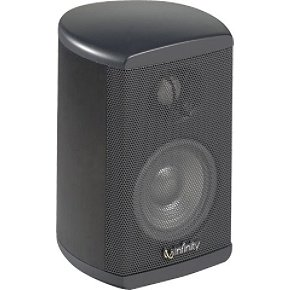 Infinity TSS-SAT750 Charcoal Way 3-1/2'' Satellite Speaker with MMD Drivers by Harman
