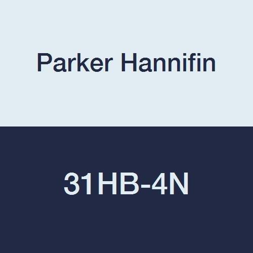 White Parker Hannifin 326HB-8-4N Par-Barb Nylon Female Connector Fitting 1//2 Hose Barb x 1//4 Female NPT