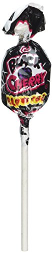 Charms Blow Pop Sucker Lollipops Black Cherry Flavor - Black Wrapped Candy