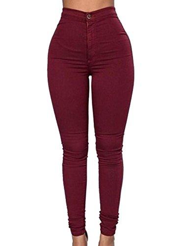 Bordeaux Rouge EMMA Femme Rouge Jeans EMMA Femme Bordeaux Jeans EMMA Jeans Femme 5Xw5TxPq