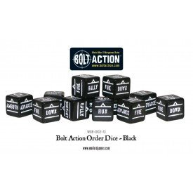 【在庫限り】 Bolt Action Orders Dice Black Orders Bolt Action B00EP6WUIU, 京近江ほっこり茶屋:72add62c --- arianechie.dominiotemporario.com