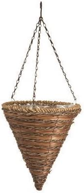 12 Rope Fern Basket