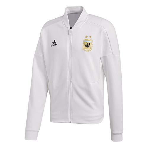 抑圧スタジオ観客2018-2019 Argentina Adidas ZNE Knitted Anthem Jacket (White)