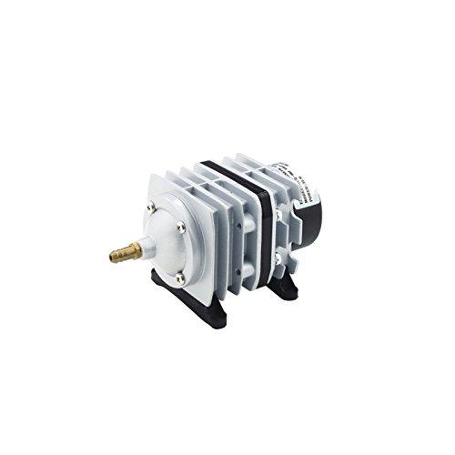 takestop A/érateur Compresseur en aluminium acq-005/100L//min 85/W avec peigne /à d/éviations flux Air pour Aquarium eau douce sal/ée