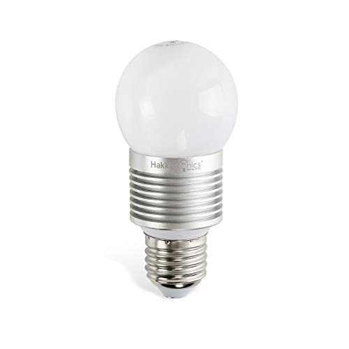 Hakkatronics Led Light Bulbs, 7W (80 Watts Equivalent), 700 Lumen, 4000 Kelvin Natural White, A17 E26 Standard Base, Non-Dimmable Energy Saving Bulbs for Home/Office/Warehouse ()