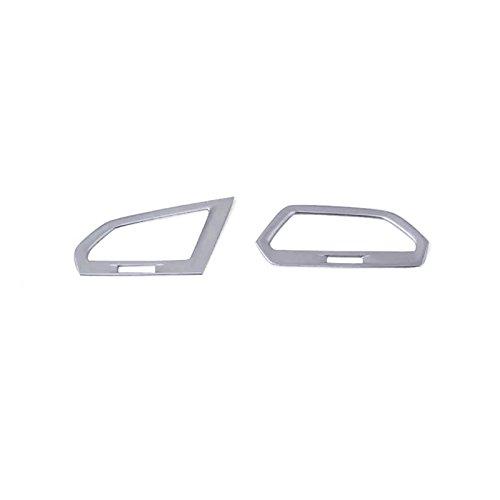 per Tiguan Seconda generazione 2016 2017 2018 ABS di plastica interno anteriore Climatizzatore coprilampo 2 pezzi