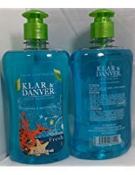 Klar & Danver Ocean Fresh Liquid Hand Soap (2 Pack) 15 Fl.oz. ()