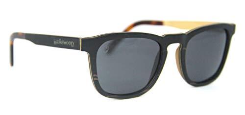 Óculos De Sol De Madeira John, MafiawooD