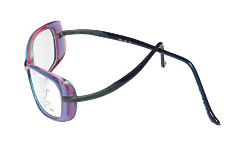 Kata Kd6 WomensLadies Designer Full-rim EyeglassesEyeglass Frame (51-16-130 Lavender  Blue  Milticolor)