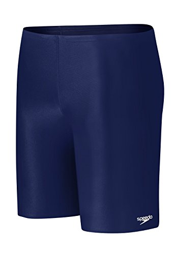 Speedo Little Boys' Learn-To-Swim Solid Jammer, Deep Water, (Speedo Boys Swimsuit)