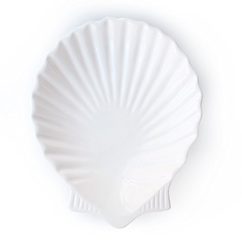 American Atelier by the Sea Round Shell Platter, 13.5