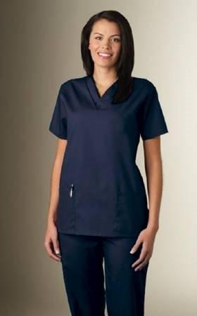 Scrub Shirt Fundamentals X-Large Navy Blue - Item Number 14000-014-XLEA