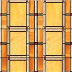 Brewster Home Fashions T346-0437 Arts And Crafts Stained Glass Window Film Twinpack