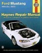 Haynes Ford Mustang 1994-2003 (Haynes Manuals)