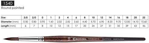 Escoda Brush 1540 Versatil 6 Sh Round