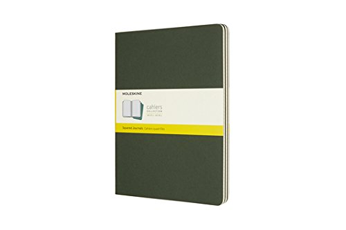 Moleskine Cahier XL Squared Myrtle Green (8055002855341)