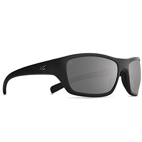 Kaenon Mens Kanvas Polarized Sunglasses, Black Label / Grey 12 Black Mirror, - Driven Sunglasses