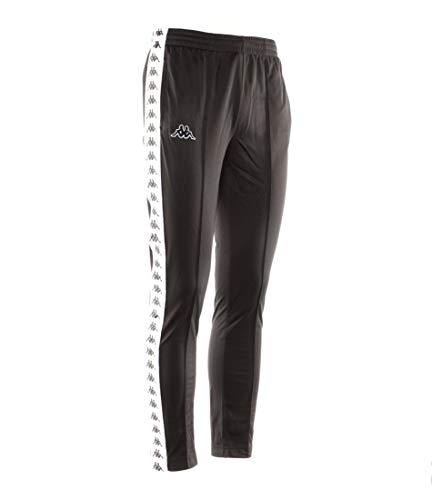 Kappa Uomo Astoria Fit bianco Nero nero Pantaloni Slim rIZwxfrq