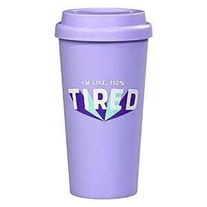 YES STUDIO Travel Mug - 1 Tired
