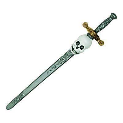 GIPLAM 76x 16cm Épée avec tête de mort (Taille unique)