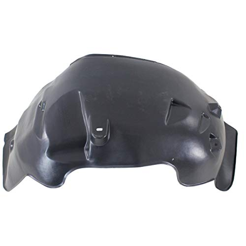 Parts N Go 2005-2011 Ram Dakota Fender Liner Front Left Hand Driver Side Splash Guard LH - CH1248129, 55077713AD