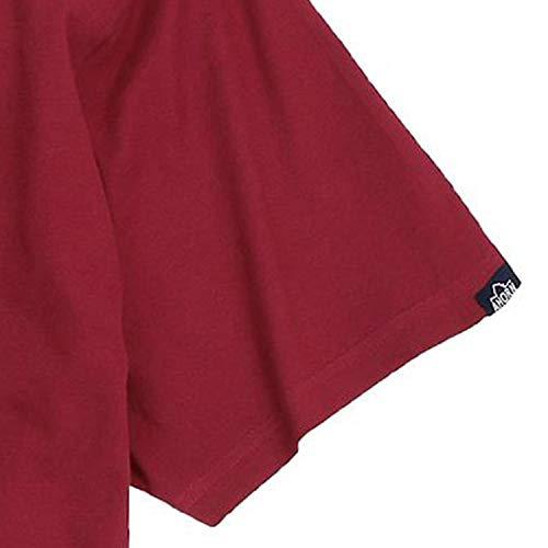rojo Ahorn camiseta oscuro tama en o en con Sportswear 10xl gran estampado hasta rrfxpawtq